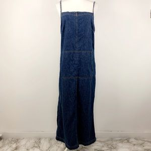 Ralph Lauren Jean overall dress long skirt